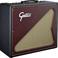 Gretsch G6156 'Playboy' Amp, 2008 (made by Victoria for Fender). Classic 2 X EL84 power and 12AX7 preamp tubes design.