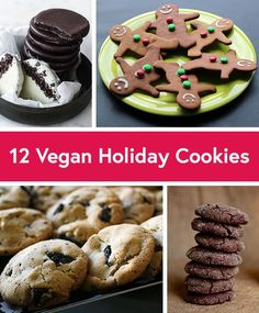 12 Vegan Cookie Recipes for the Holidays