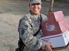"Care package ideas from ""Military Spouse Central"" for our upcoming deployment"