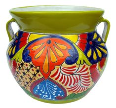 We have beautiful pottery, terracotta pots and ollas for your home and garden. We ship our handcrafted pottery directly to you. Shop Arizona Pottery now! Bird Bath Garden, Garden Planters, Pop Art, Painted Pots, Hand Painted, Talavera Pottery, Flower Bowl, Pottery Painting, Vases Decor