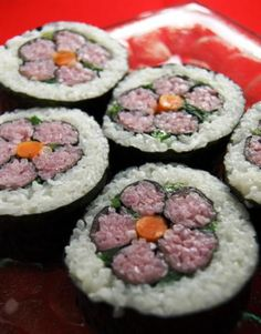 How to make Flower Sushi