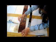 Transforme seu cinto velho em um cinto novo by Customização & Cia - YouTube