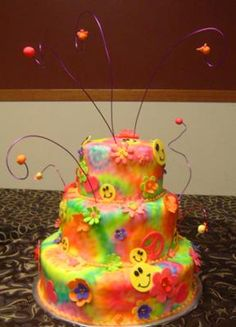 The newest addition to the Carmel Central Business Directory is Angela's Creations. Angela's creates beautiful cakes for all occasions & event planning. Pretty Cakes, Cute Cakes, Beautiful Cakes, Amazing Cakes, Fancy Cakes, Fondant Cakes, Cupcake Cakes, Tye Dye Cake, Tie Dye Party