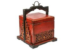 Chinese Wedding Food Carrier on OneKingsLane.com