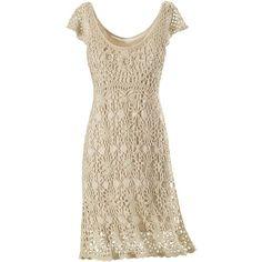Crochet Lace Dress - Women's Clothing & Symbolic Jewelry – Sexy, Fantasy, Romantic Fashions