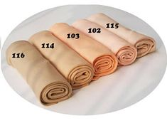 Doll skin fabric, jersey skin fabric by DeWitte Engel, 100% cotton, 1/2 metre, 5 colours available. Fabric White Angel.