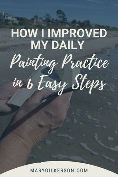 Creating a daily painting practice that sticks may seem impossible. How can an artist dedicate studio time every single day, while balancing family, work, and life? Easy! Get a system that increases productivity, boosts creativity, and keeps you focused on the long term improvement of your art. Click through to learn how!