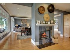 What's your take on standalone fireplaces like this one? Aurora, OR Coldwell Banker SEAL $1,695,000