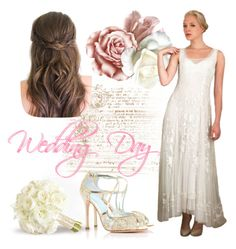 """Wedding Day"" by wardrobeshop ❤ liked on Polyvore featuring vintage"