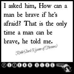 Being brave when afraid... how is that?