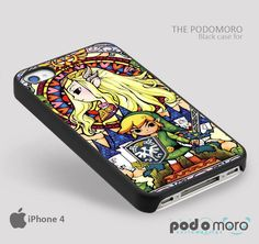 Zelda Full Wind Waker for iPhone 4/4S, iPhone 5/5S, iPhone 5c, iPhone 6, iPhone 6 Plus, iPod 4, iPod 5, Samsung Galaxy S3, Galaxy S4, Galaxy S5, Galaxy S6, Samsung Galaxy Note 3, Galaxy Note 4, Phone Case