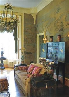 Chinoiserie decorating
