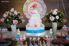 Festa Passarinhos no Jardim hoje no blog. Um tema e uma decoração encantadora!!! Imagens enviadas por Rosemere Cordeiro da Fazendo Scr...