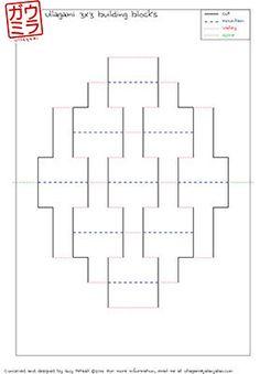 DIY Templates Ben's Starter Kit Kirigami Pop-up paper von Ullagami