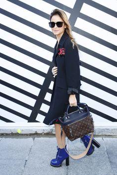 Louis Vuitton первый ряд | Коллекции весна-лето 2017 | Париж | VOGUE