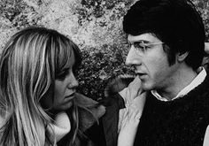 Straw Dogs directed by  Sam Peckinpah.Starring Dustin Hoffman and Susan George. 1971