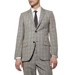 Alexander McQueenPrince of Wales Check Suit Jacket