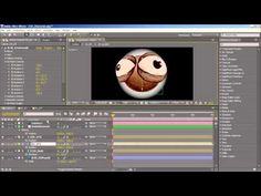 e.d.Films Tutorial: Rotating a Simple Character Head in After Effects Using FreeForm