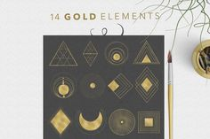 Beautiful Alchemy vol. 1 by OpiaDesigns on @creativemarket