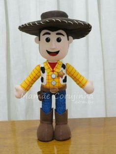 Toy store crochet inspiration-Woody