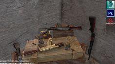 ArtStation - Weapons Shed, Deen Mugal