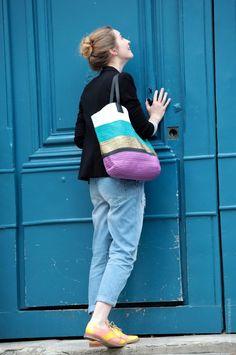 Calça com barra dobrada - Streetstyle
