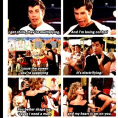 Grease! Can recite every line and sing every lyric ;) biggest obsession ever <3