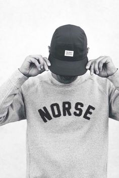 Norse Projects - hipster menswear brand from Copenhagen ...yeah, I said hipster