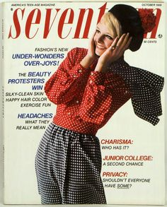 Seventeen Magazine / Cover / October 1968