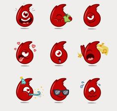 Vodafone Stickers Competition on Behance