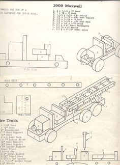 Vintage Wooden Toy Plans - Bing images