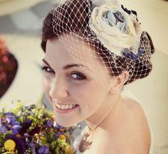 Customized Bridal Hair Bouquet $85