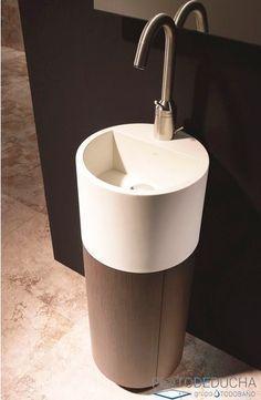Mueble de Baño Loft, ideal para espacios pequeños. De estilo minimalista Google Home, Loft, Sink, Canning, Home Decor, Model, Home, Modern Furniture, Bathroom Furniture