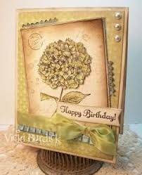 Image result for stampin up hydrangea