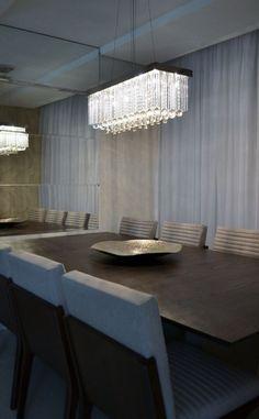 Sala de jantar apartamento F|F - projeto Rubatino Arquitetura.  #dinner #saladejantar #interiordesign