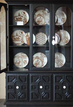 china cabinet turned farmhouse pantry....read the post to see what ...