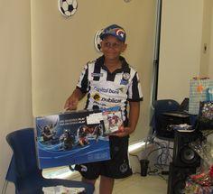 Pablo, 11 años, Leucemia Mieloide Aguda, paciente del Hospital del Niño. Su deseo era tener un PS4.