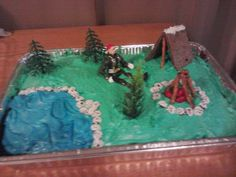 Brayden's cub scout cake  :)