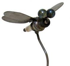 Yardbirds Junkyard Metal Animal Dragonfly
