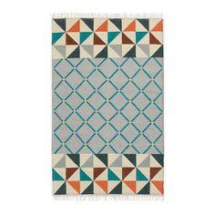 Wallace Sewell Moorish Wool Dhurrie, Multi, 8'x10'