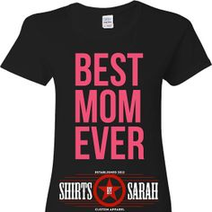 Mothers Day Shirt - Best Mom Ever Shirts - Tees V-Neck Mother Shirt