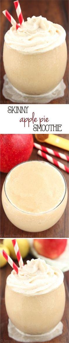 Skinny #Apple Pie #Smoothie -- SO good! It tastes just like the pie & is…