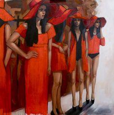 "Saatchi Online Artist Pascale Taurua; Mixed Media, ""SOLD"" #art"