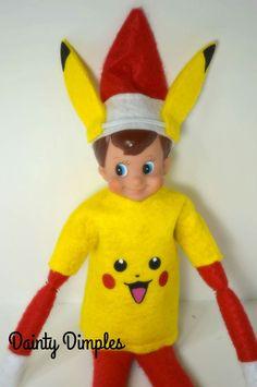 Elf Pikachu Pokémon costume