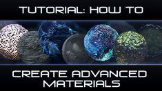 How to: Make Advanced Materials [Cinema 4D]