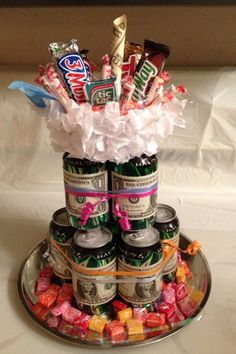 Soda Can Cakes Cake Girl Birthday Party Ideas 19