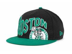 Boston Celtics New Era NBA Hardwood Classics Wave Snapback Cap Hat