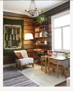 Log Cabin Furniture, Rustic Wood Furniture, Western Furniture, Furniture Design, Rustic Cabin Decor, Rustic Cabins, Lodge Decor, Log Cabins, Knotty Pine Decor