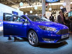 """2015 Ford Focus - 8"""" Display for MyFord Touch that includes SYNC 2 and smartphone connectivity. Voice commands. Blind spot information system. via @CNET"""