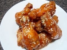 Chicken wings 3 ways! Hot Wings, BBQ Wings, and Orange Wings  Superbowl Grub - Perfect for a Wing Bar